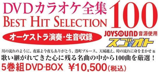 Best Hit Selection 100 DVDカラオケ全集 [DVD]