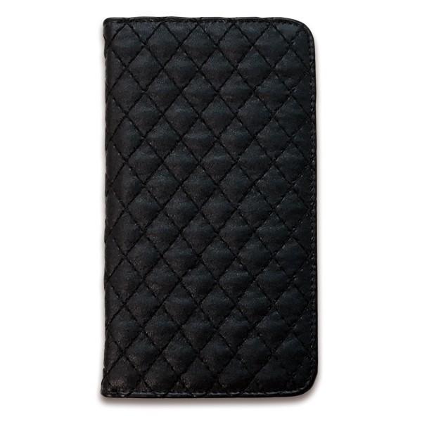 スマホケース 手帳型 全機種対応 ミラー付き キルティング 手帳型ケース iPhoneXS galaxys10 L03K AQUOS R3 F-01K 704SH SO04H SH-01K ケース カバー|soleilshop|09
