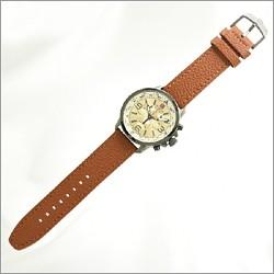 腕時計ベルト調整のご案内レザーベルトのサンプル画像