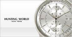 ハンティング ワールド 腕時計 正規輸入品