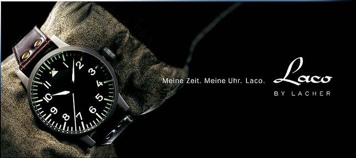 ドイツパイロットウォッチ:ラコ Laco