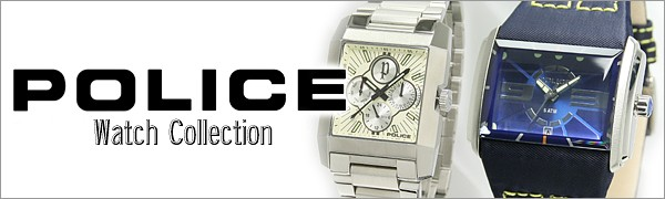 ポリス POLICE 腕時計