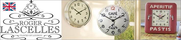 イギリス・ロジャーラッセル [ROGER LASCELLE] 海外輸入クロック 掛け時計 置き時計