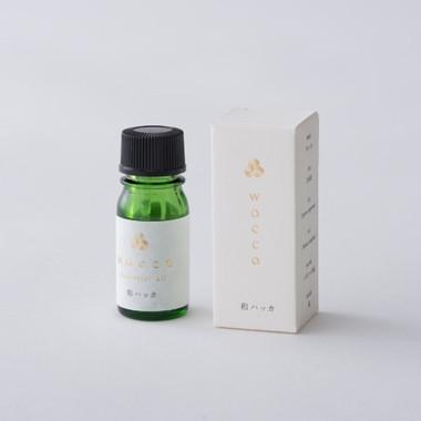 日本のエッセンシャルオイル和ハッカの香り