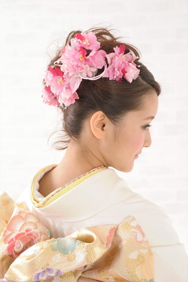 ロングタイプ髪飾り