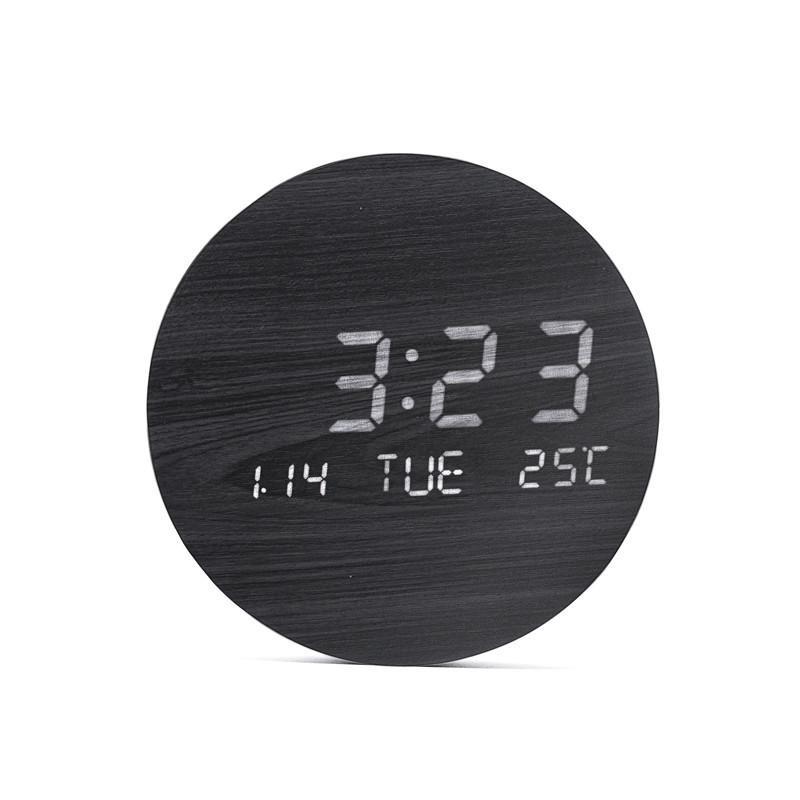 壁掛け時計 置き時計 デジタル電子時計 USB給電 おしゃれ 北欧風 掛け時計 掛時計 壁に掛けるLED夜の光時計 家庭用 soukyoushop 16
