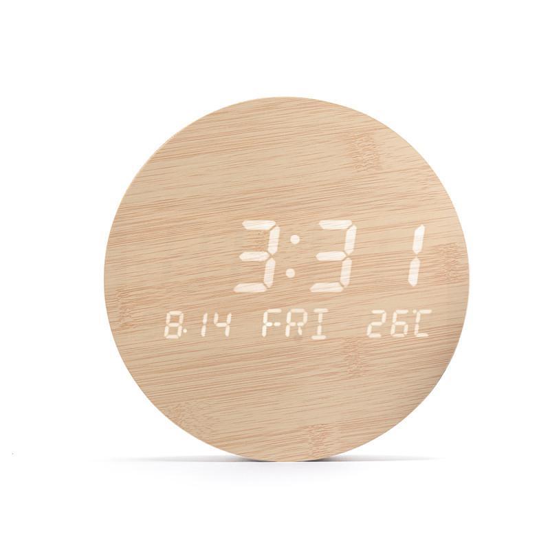 壁掛け時計 置き時計 デジタル電子時計 USB給電 おしゃれ 北欧風 掛け時計 掛時計 壁に掛けるLED夜の光時計 家庭用 soukyoushop 18
