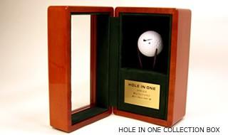 ホールインワン記念ゴルフボールコレクションケース