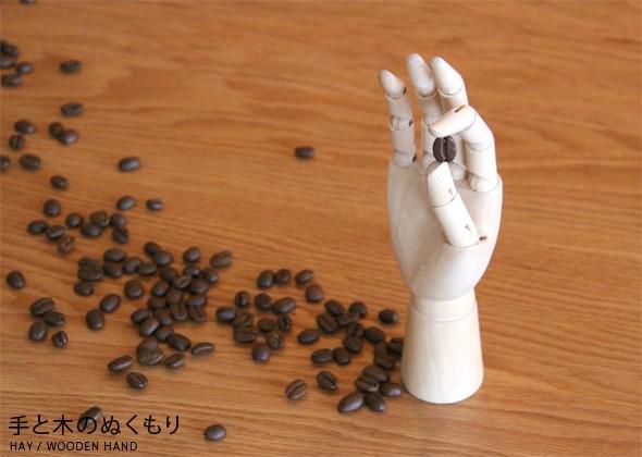 Hay ヘイ Wooden Hand S 木製ハンドトルソー