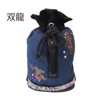 和柄 リュック 和柄バッグ リュックサック [バッグ]2way 鶴虎 双龍 鯉 刺繍 帆布バッグ|sousakuzakka-koto|20