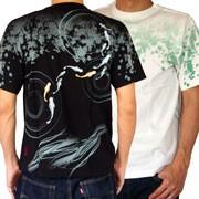 【めだか刺繍Tシャツ】