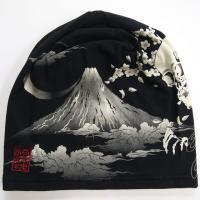 絡繰魂 抜染ワッチCAP 和柄帽子  虎 髑髏|sousakuzakka-koto|14