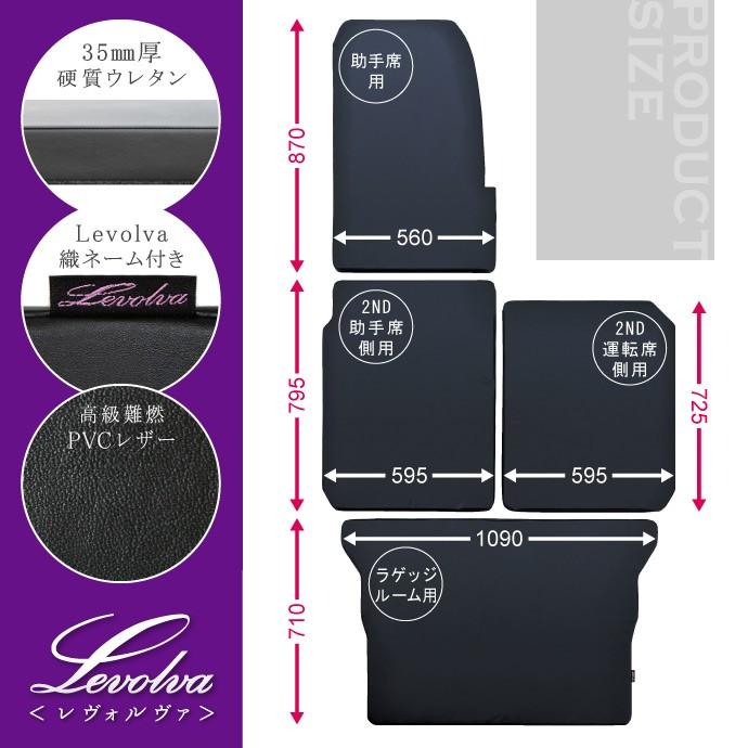 Levolva<レヴォルヴァ>JJ1系/JJ2系N VAN・N VAN+STYLE専用マットレス / LVMR-11 製品サイズ