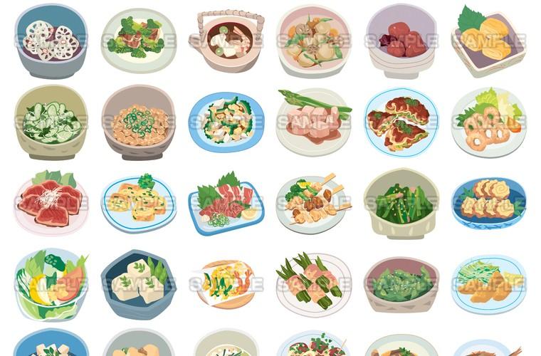 料理イラスト2 パーソナルタイプ Pap 11067イラスト写真ショップ