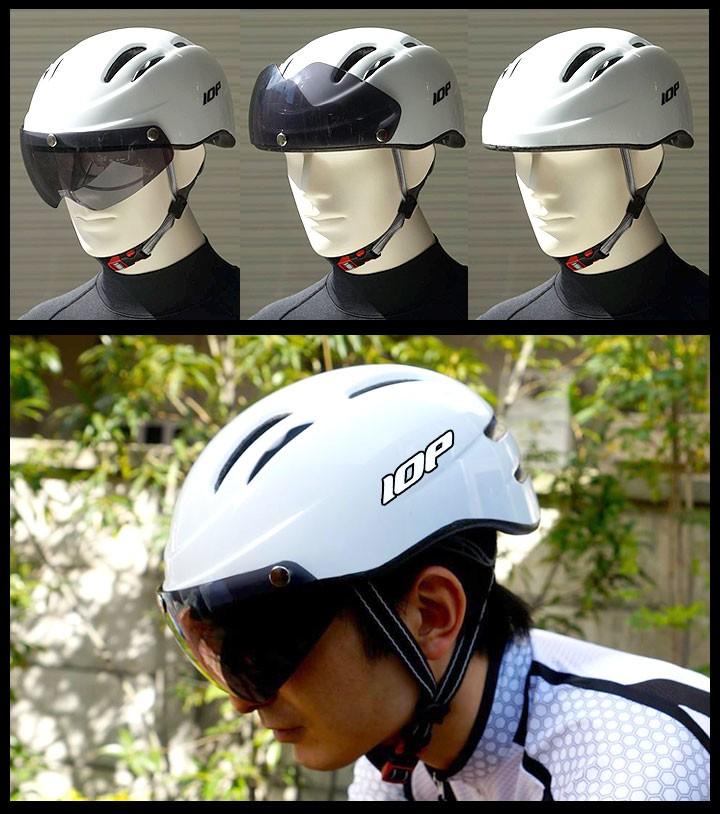 IOPヘルメット エアロタイプ
