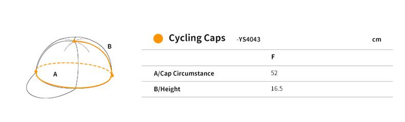 サイクリングキャップ