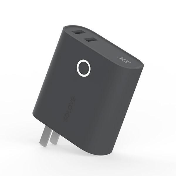 モバイルバッテリー 5000mAh  2ポート 大容量 コンパクト スマホ充電器 急速 iPhone Android 携帯充電器 スマホ 充電器 solove【PSEマーク付】|sp-plus|19