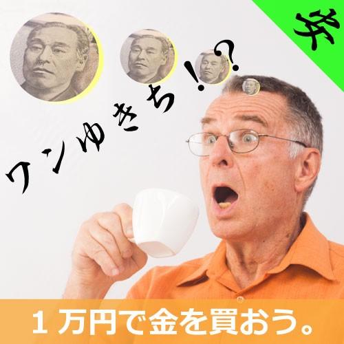 1万円で買える金特集