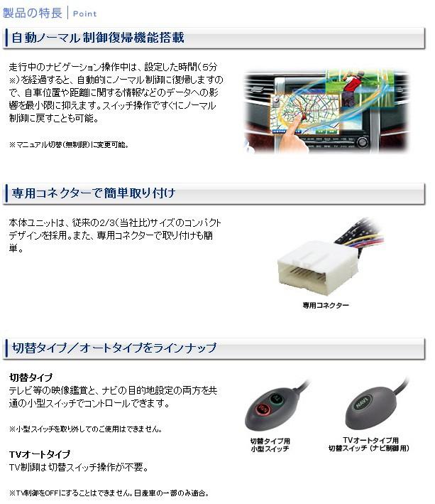データシステム TV-NAVIキット テレビナビキット TV-キット