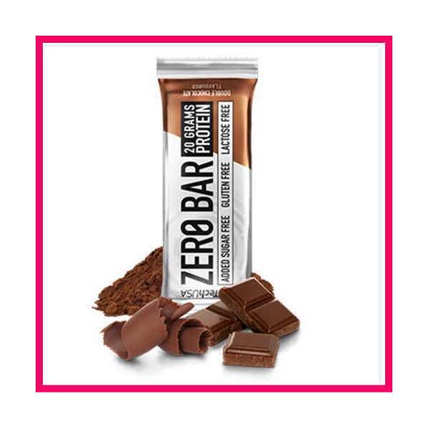 送料無料 プロテインバー 20本1箱 ゼロバー チョコチップクッキー ヘーゼルナッツ カプチーノ ダブルチョコ 1本にプロテイン20g BioTech社 ZERO BER spl 07