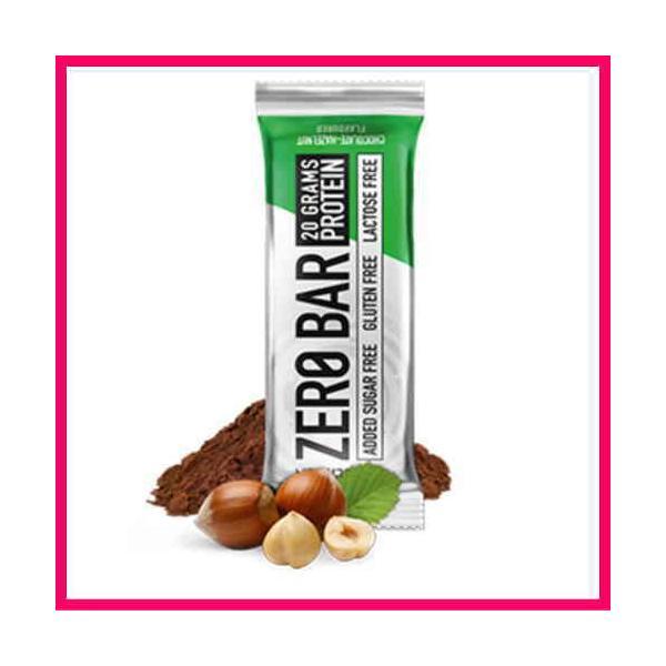 送料無料 プロテインバー 20本1箱 ゼロバー チョコチップクッキー ヘーゼルナッツ カプチーノ ダブルチョコ 1本にプロテイン20g BioTech社 ZERO BER spl 08