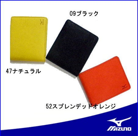 グローブ革の折財布