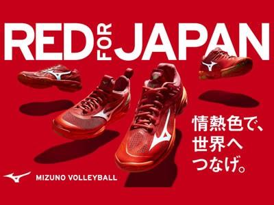 ミズノ2018全日本女子バレー代表着用バレーボール靴
