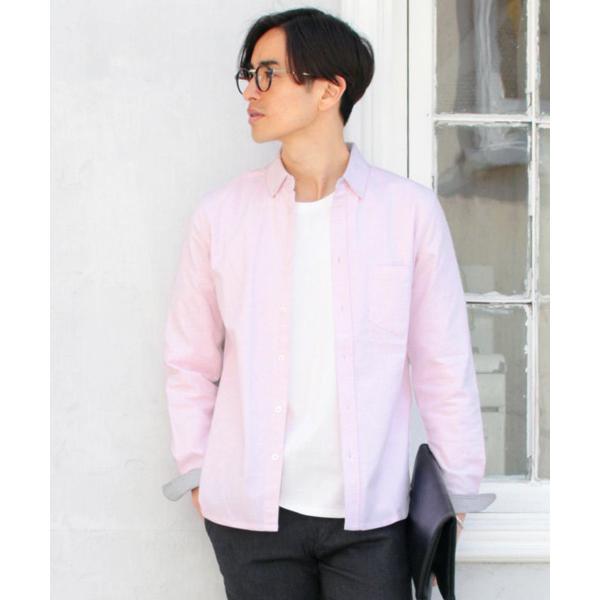 シャツ メンズ カジュアルシャツ メンズ 長袖 人気 オックスフォード ボタンダウンシャツ 予約販売・10月下旬頃発送予定|spu|20