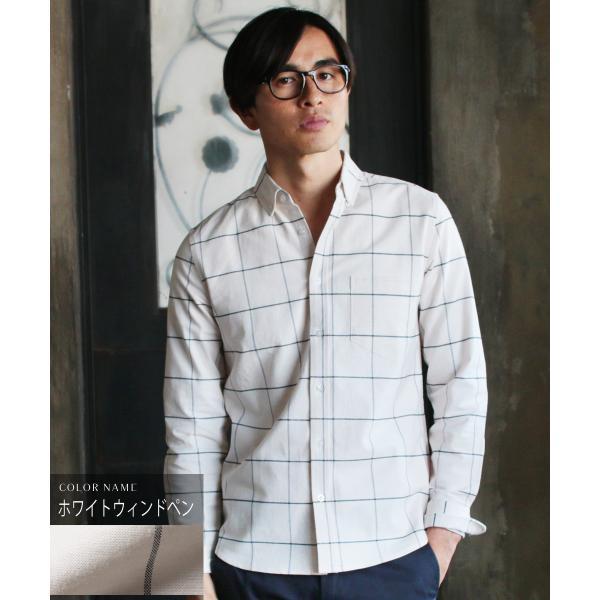 シャツ メンズ カジュアルシャツ メンズ 長袖 人気 オックスフォード ボタンダウンシャツ 予約販売・10月下旬頃発送予定|spu|22