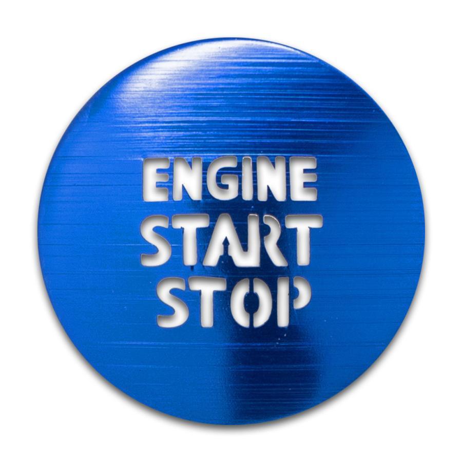 トヨタ ガソリン車 汎用 エンジンスターターカバー 1p プッシュスタートカバー スタートボタン シェアスタイル ss-style8 08