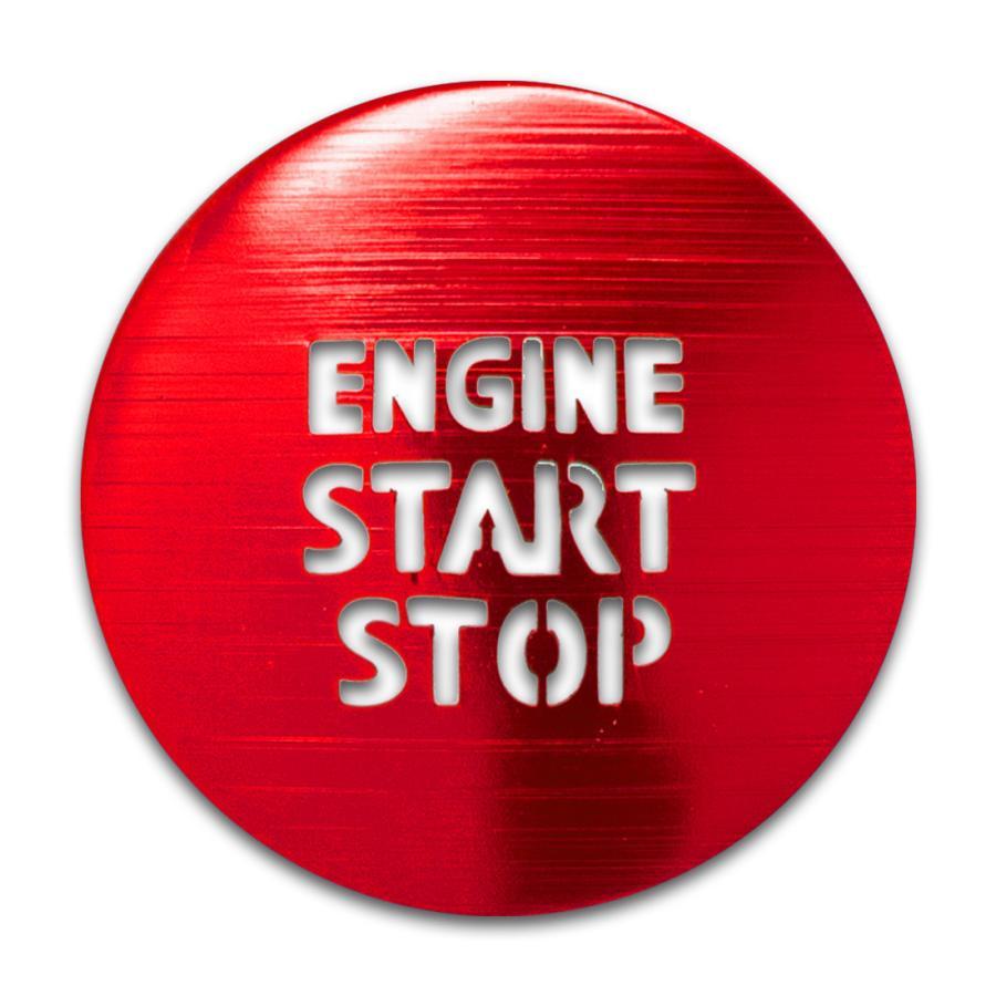 トヨタ ガソリン車 汎用 エンジンスターターカバー 1p プッシュスタートカバー スタートボタン シェアスタイル ss-style8 07
