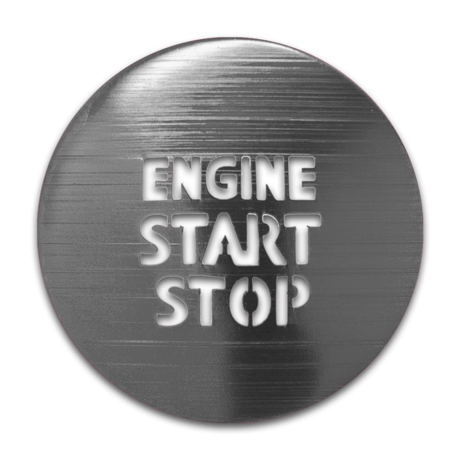 トヨタ ガソリン車 汎用 エンジンスターターカバー 1p プッシュスタートカバー スタートボタン シェアスタイル ss-style8 09
