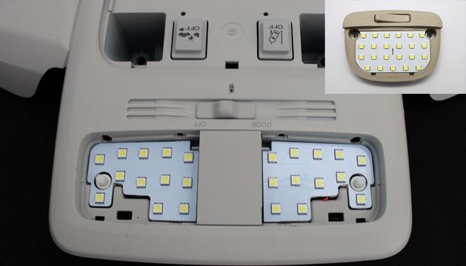 超激明 SUBARU フォレスター(FORESTER) SJ系 専用 LEDルームランプ超豪華セット!! 3chip SMD使用 フロントリア ラゲッジ-専用設計