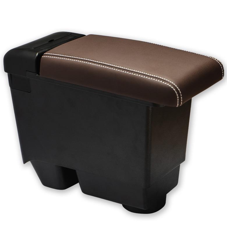 ヤリスクロス 専用 アームレスト コンソールボックス ブラック ブラウン トレイ マット 収納トヨタ シェアスタイル|ss-style8|11