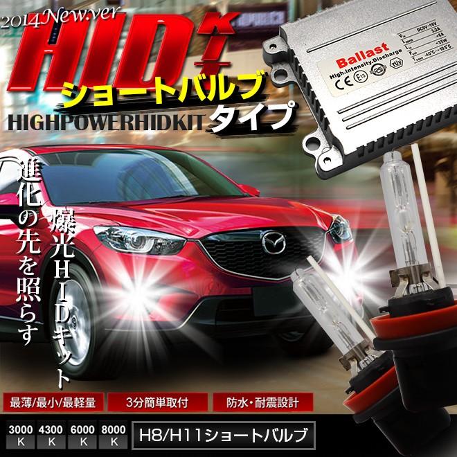 シェアスタイルオリジナルH8/H11 ショートバルブ HIDキットが遂に発売開始!!