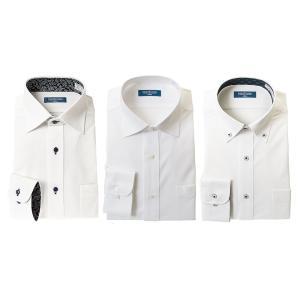 別格ノーアイロンシャツ 3枚セット 長袖 ワイシャツ ニットシャツ 1枚あたり1,999円 形態安定 ※裄つめ不可|シャツステーション
