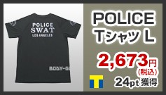 POLICE Tシャツ L