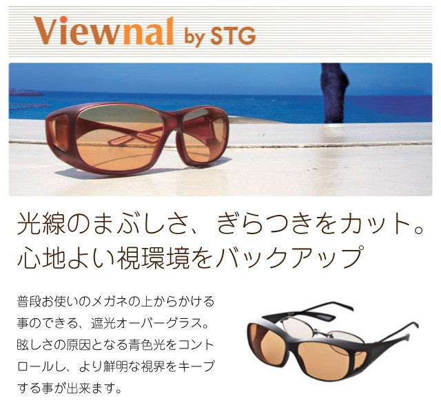 (1ページ目) CCP400 Viewnal by STG 東海光学 遮光眼鏡オーバーグラス