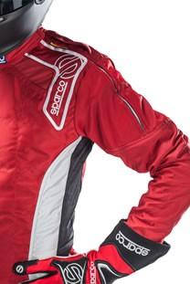 スパルコ レーシングスーツ ERGO7 ファスナー