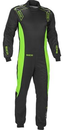 スパルコ レーシングスーツ ERGO7 ブラックグリーン