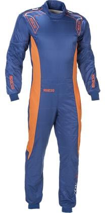 スパルコ レーシングスーツ ERGO7 ブルーオレンジ