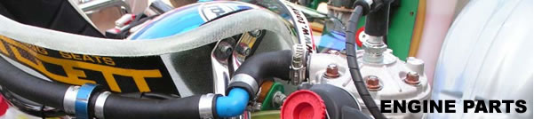 レーシングカートエンジン周辺パーツ