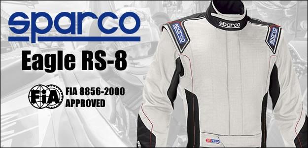 スパルコ レーシングスーツ イーグル RS8