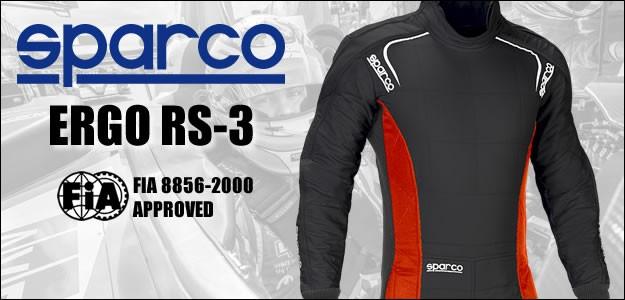 スパルコ レーシングスーツ エルゴ RS3