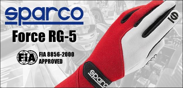 スパルコ レーシンググローブ Force Rg5