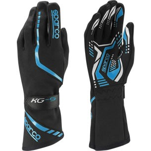 スパルコ レーシンググローブ KG5 ブラック ブルー