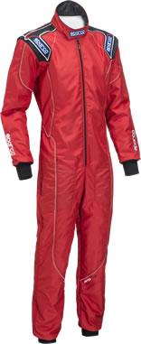 スパルコ レーシングスーツ KS3 レッド