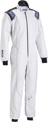 スパルコ レーシングスーツ KS3 ホワイト