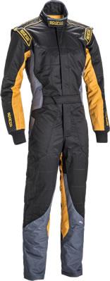 スパルコ レーシングスーツ KS-5 ブラック オレンジ