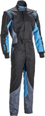 スパルコ レーシングスーツ KS-5 ブラック ブルー